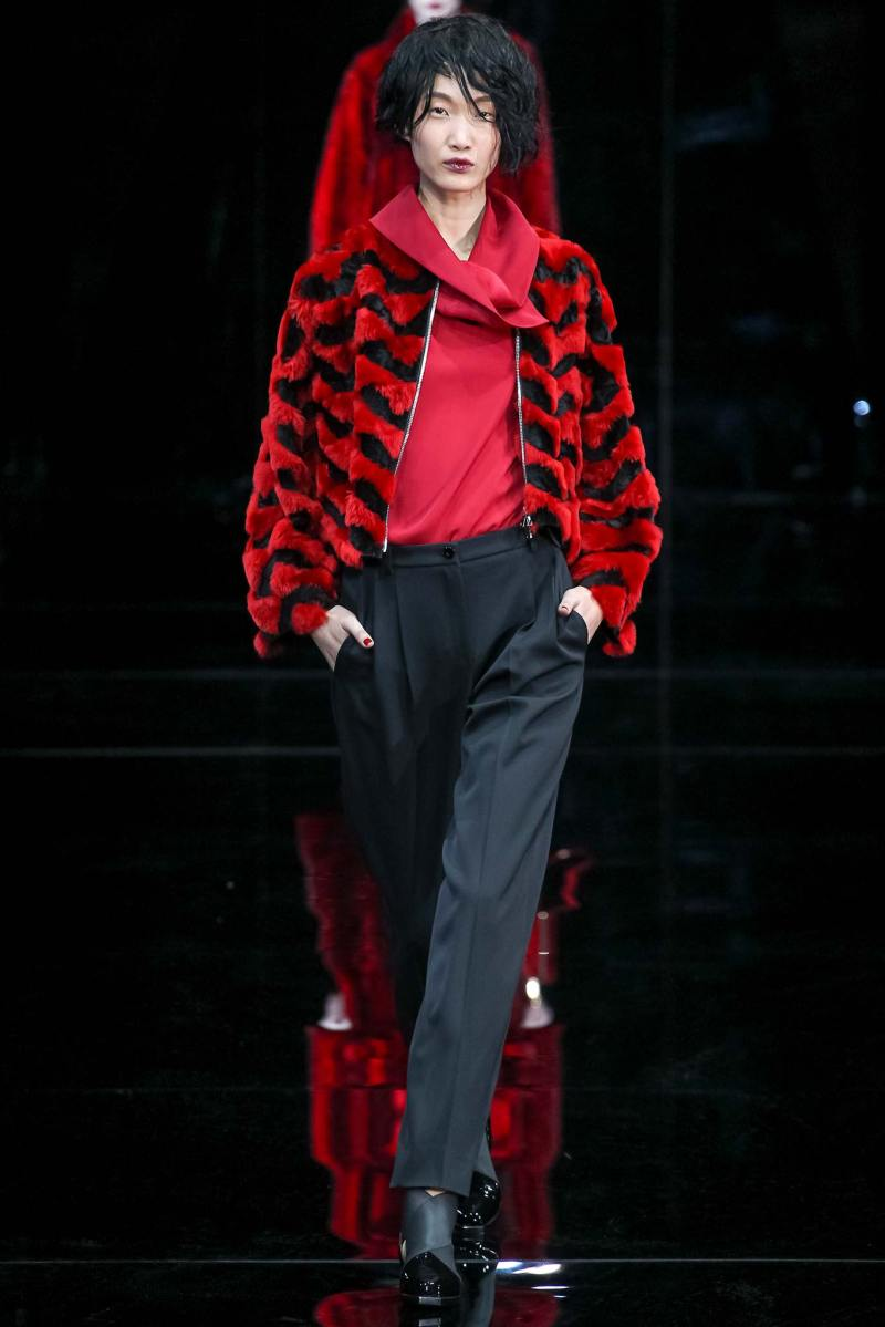 Emporio Armani Ready to Wear FW 2015 MFW (27)