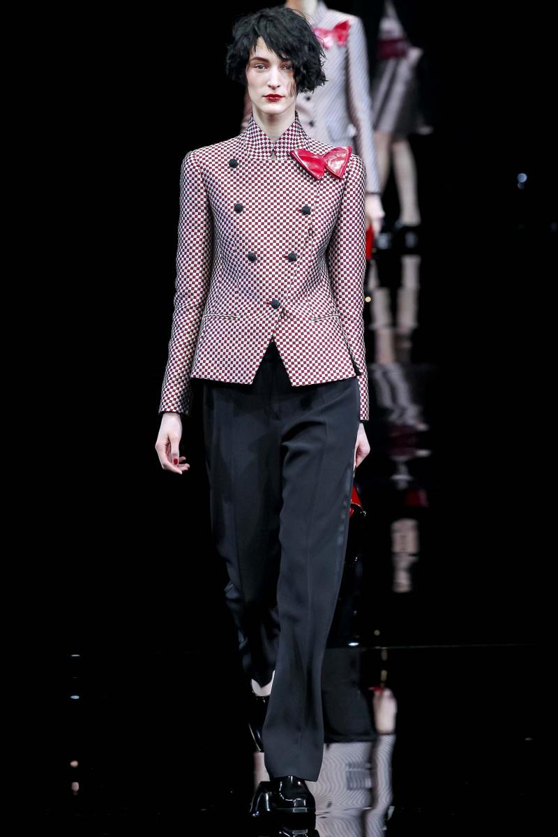 Emporio Armani Ready to Wear FW 2015 MFW (31)