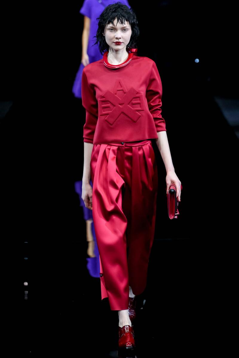 Emporio Armani Ready to Wear FW 2015 MFW (41)