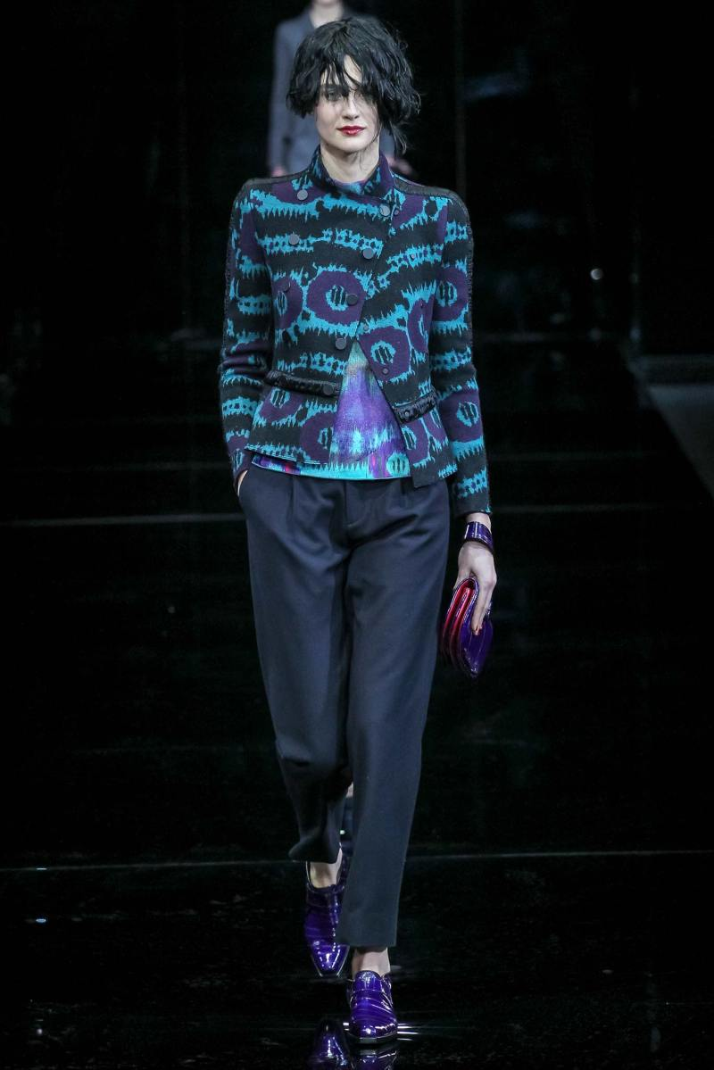 Emporio Armani Ready to Wear FW 2015 MFW (5)
