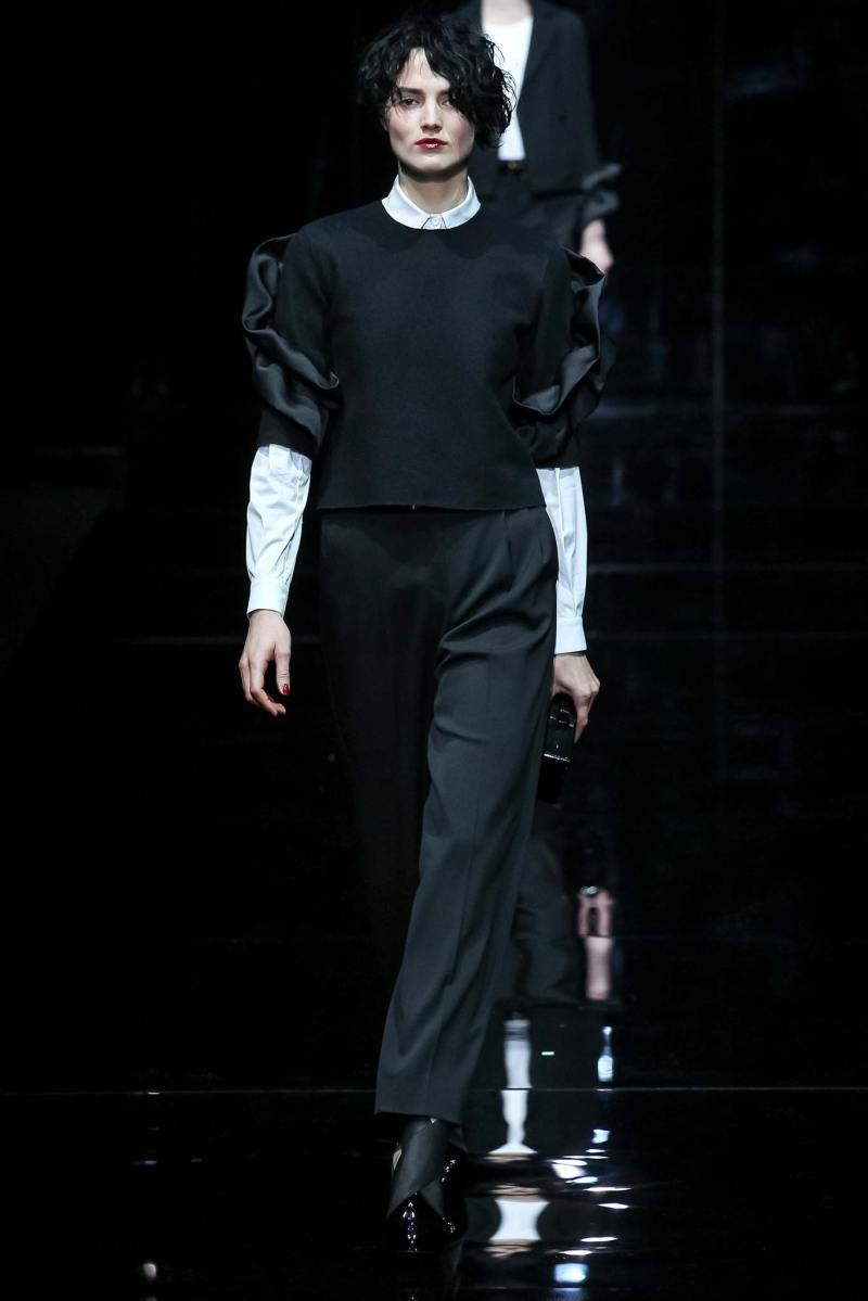 Emporio Armani Ready to Wear FW 2015 MFW (52)