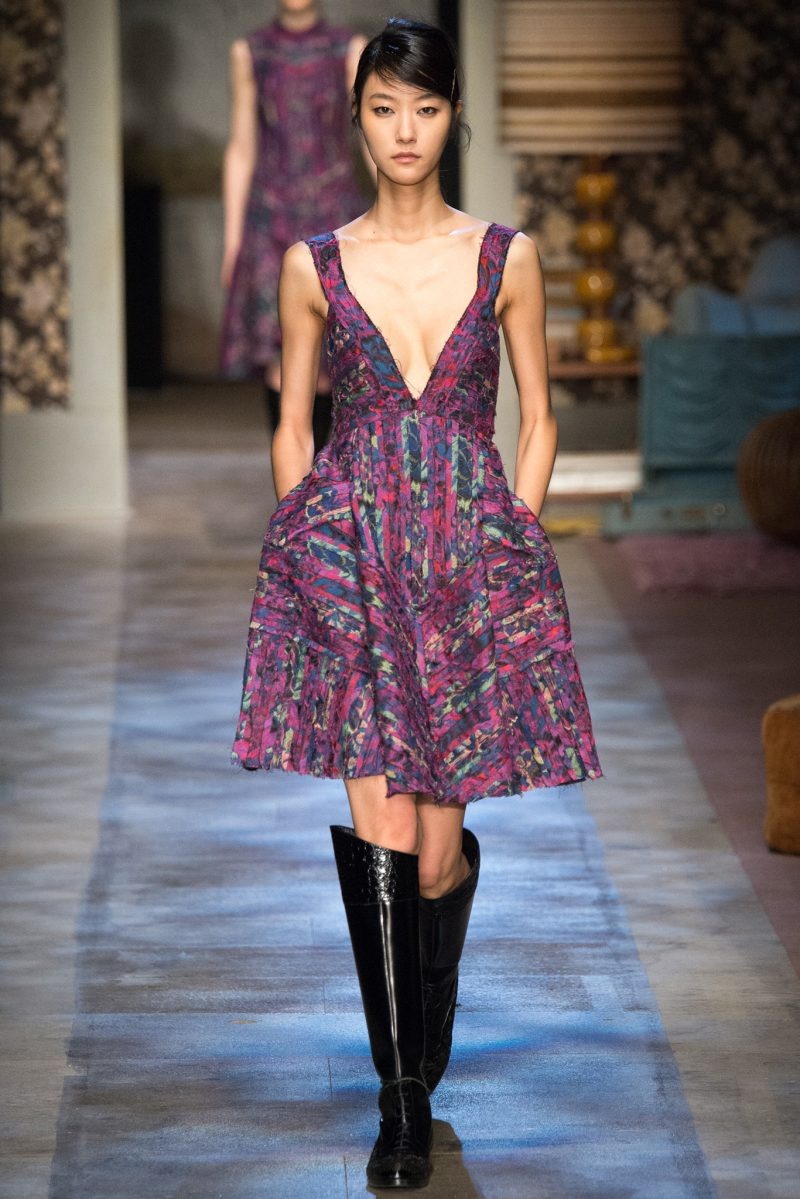 Erdem Ready to Wear FW 2015 LFW (11)