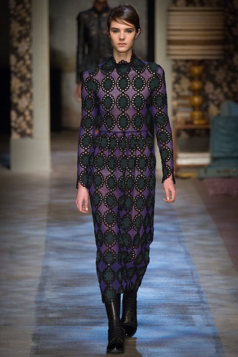 Erdem Ready to Wear FW 2015 LFW (20)