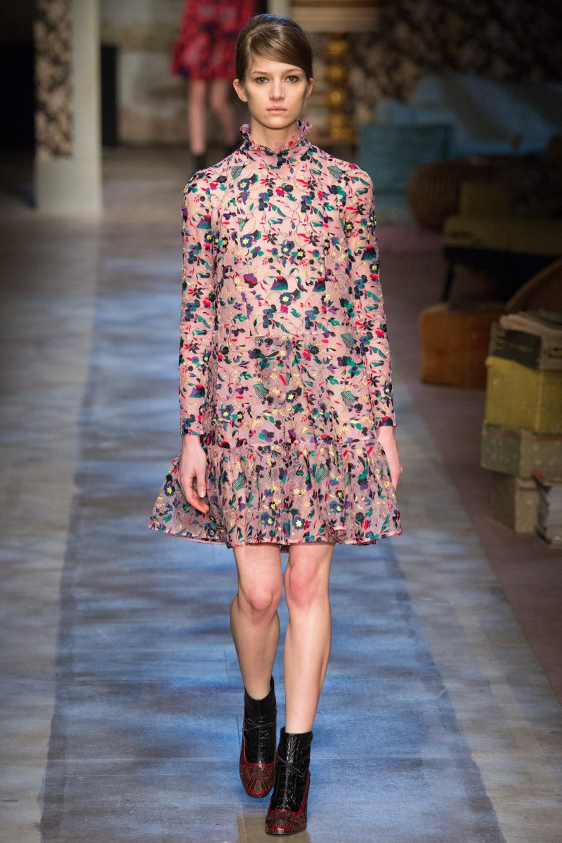 Erdem Ready to Wear FW 2015 LFW (25)