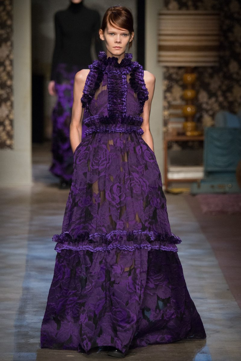 Erdem Ready to Wear FW 2015 LFW (34)