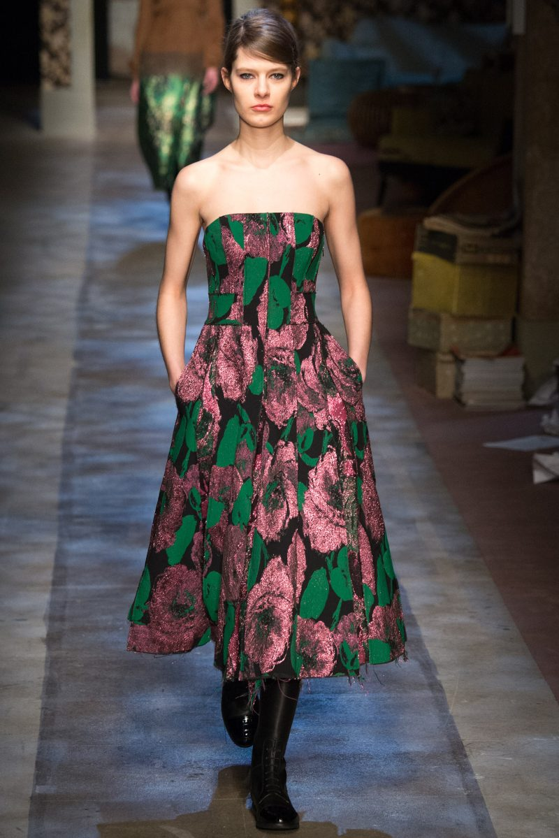 Erdem Ready to Wear FW 2015 LFW (7)