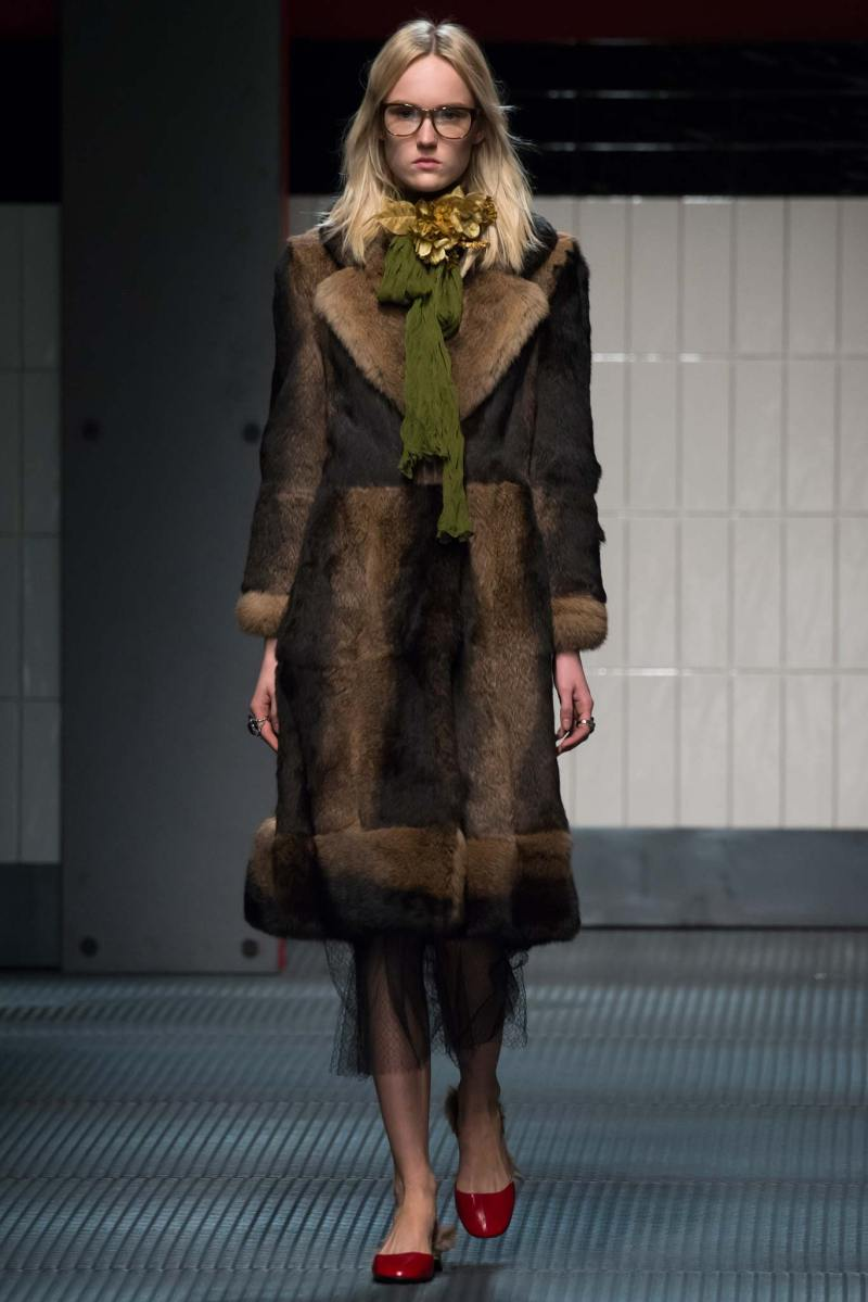 Gucci Ready to Wear FW 2015 MFW (12)