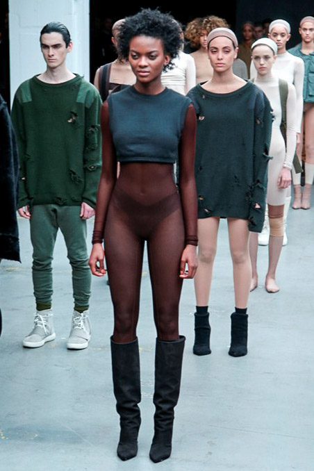 Kanye West x Adidas Originals Ready to Wear FW 2015 NYFW (2)