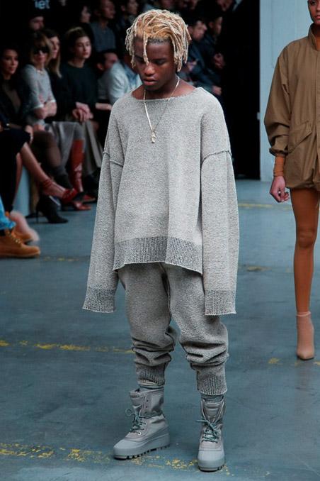 Kanye West x Adidas Originals Ready to Wear FW 2015 NYFW (27)