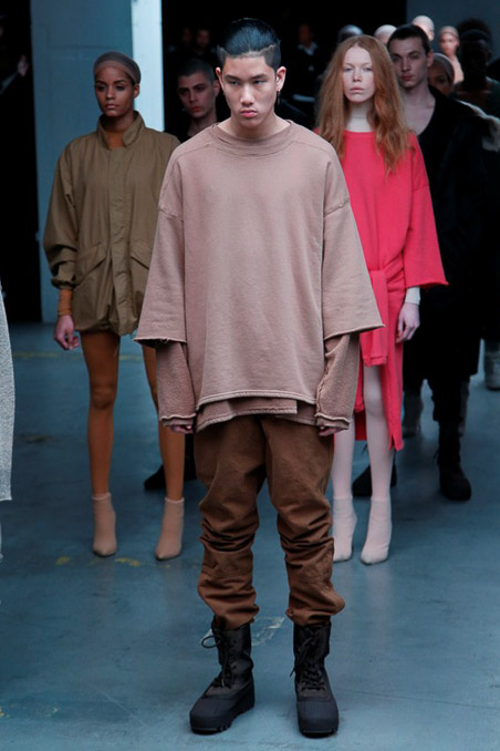 Kanye West x Adidas Originals Ready to Wear FW 2015 NYFW (28)