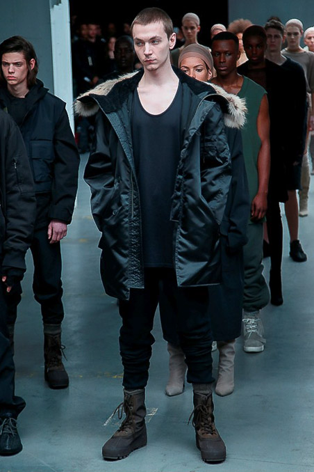 Kanye West x Adidas Originals Ready to Wear FW 2015 NYFW (38)