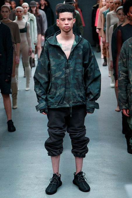 Kanye West x Adidas Originals Ready to Wear FW 2015 NYFW (48)