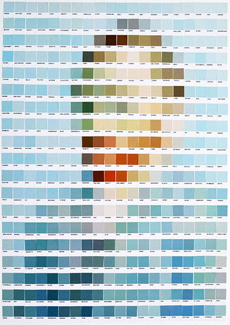 Pantone Interpretations by Nick Smith