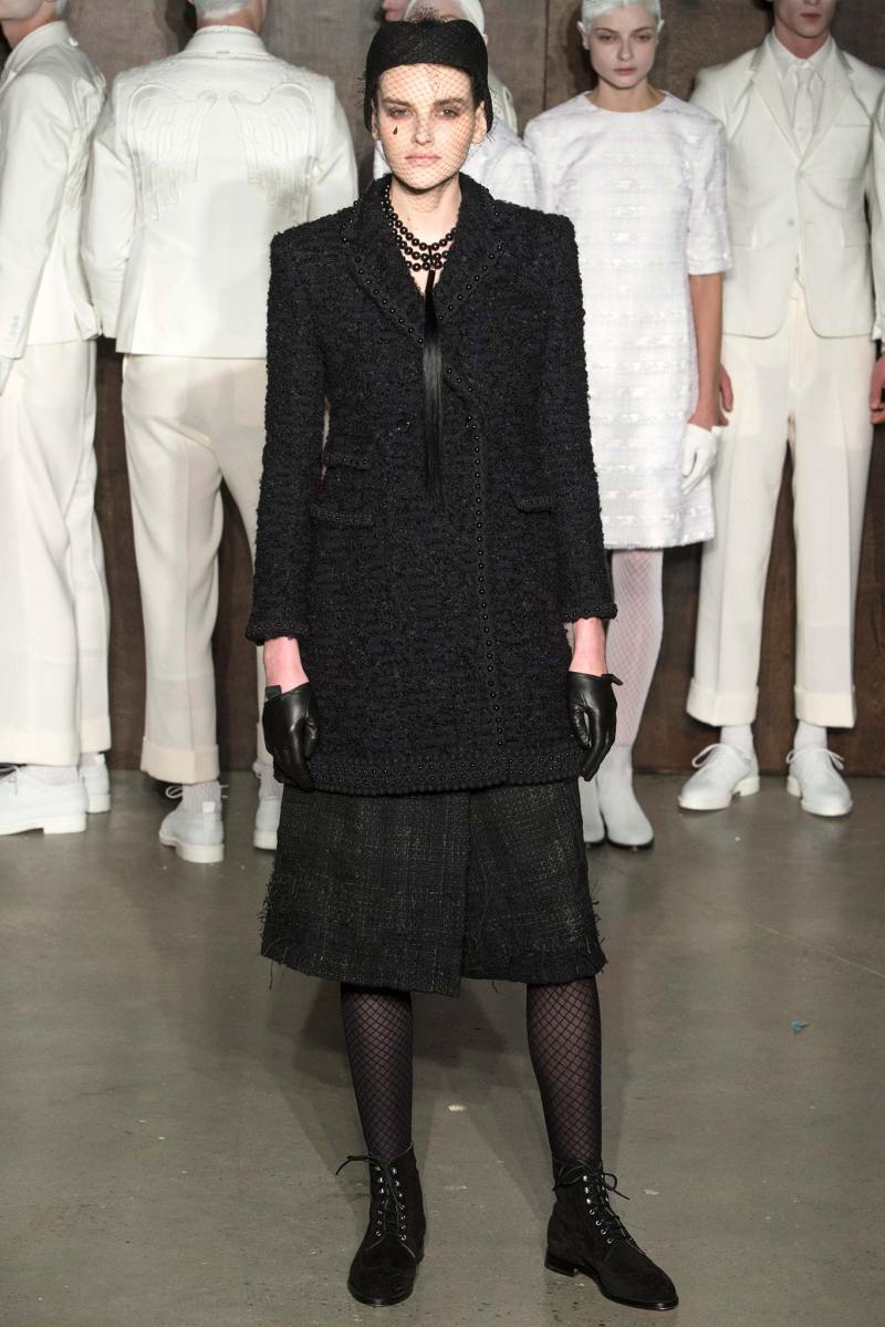 Thom Browne Ready to Wear FW 2015 NYFW (26)