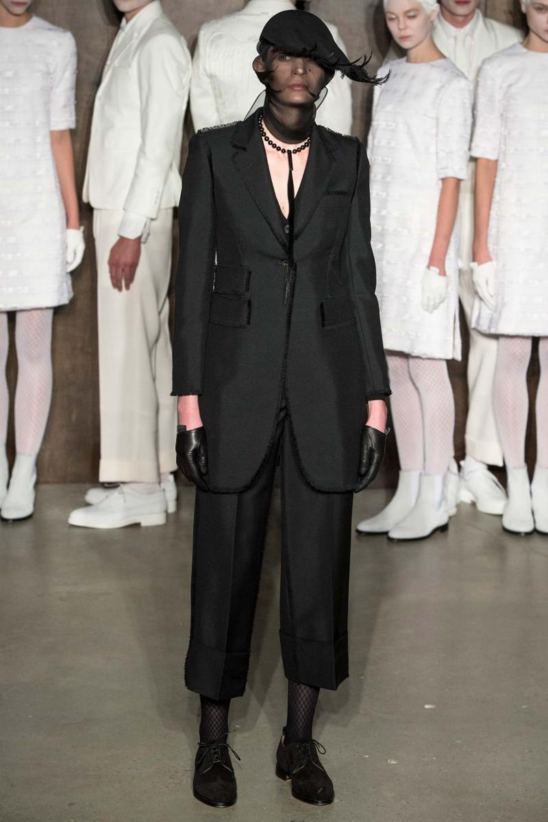 Thom Browne Ready to Wear FW 2015 NYFW (3)