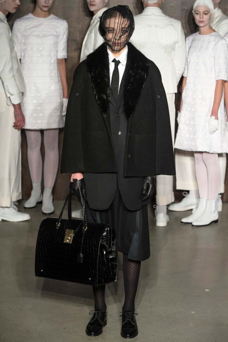 Thom Browne Ready to Wear FW 2015 NYFW (31)