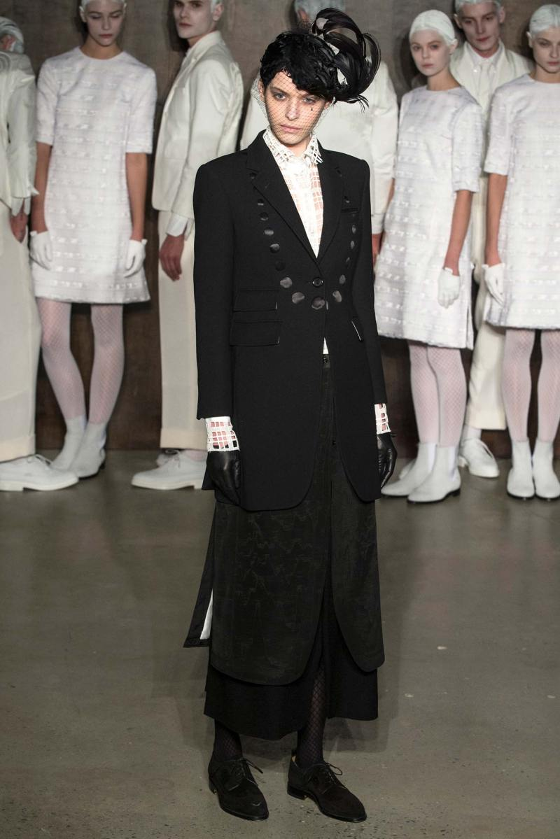 Thom Browne Ready to Wear FW 2015 NYFW (5)