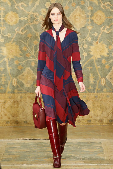 Tory Burch Ready to Wear F/W 2015 NYFW
