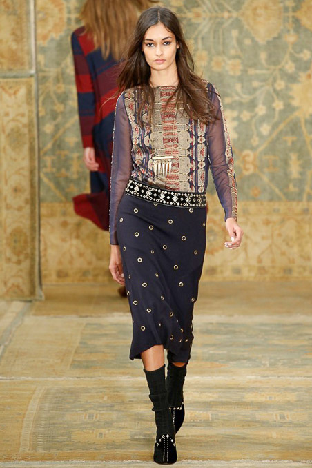 Tory Burch Ready to Wear FW 2015 NYFW (19)