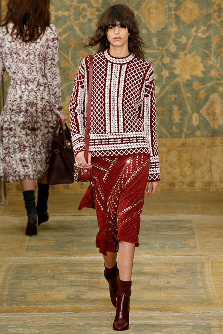 Tory Burch Ready to Wear FW 2015 NYFW (30)