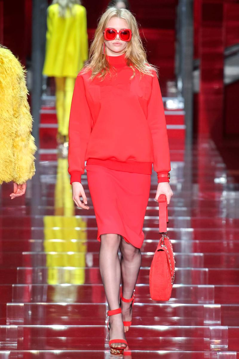 Versace Ready to Wear FW 2015 MFW (12)