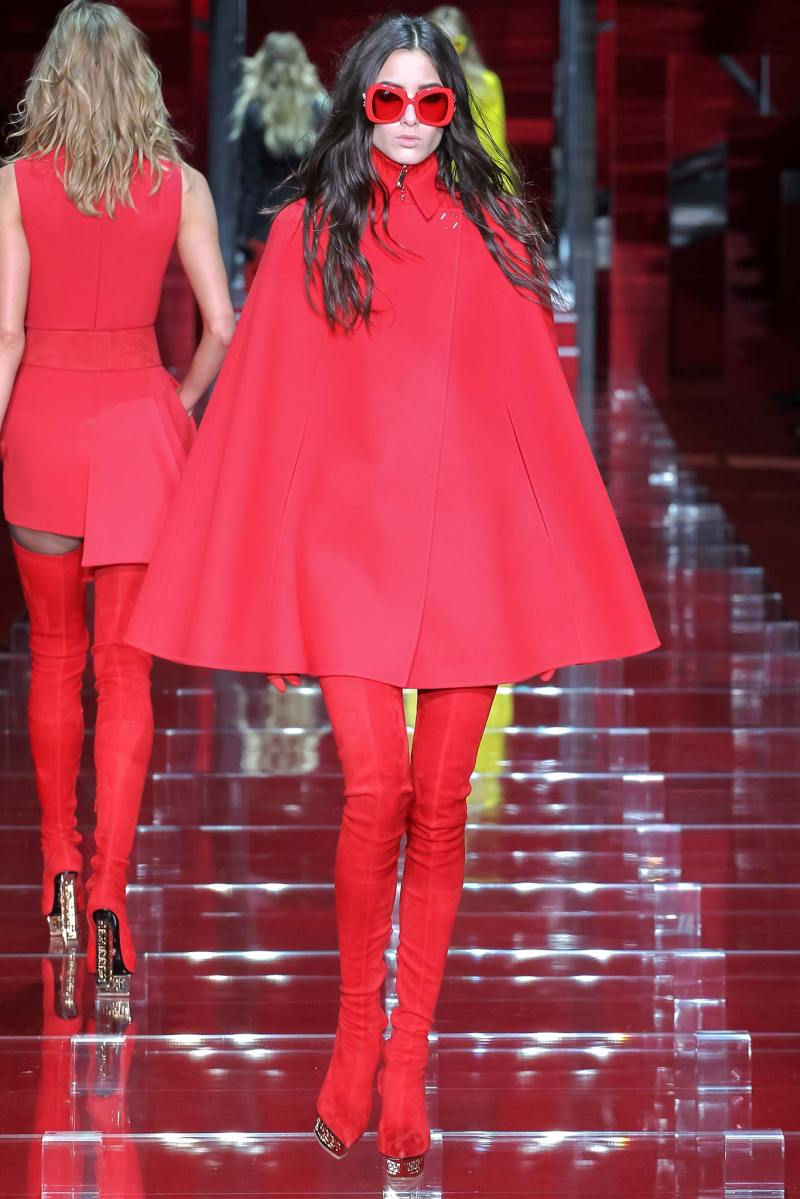 Versace Ready to Wear FW 2015 MFW (9)
