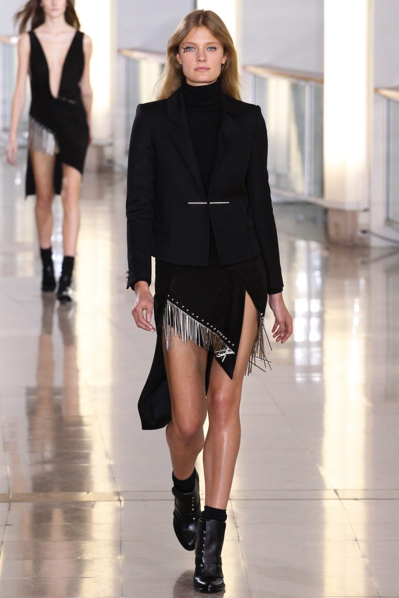 Anthony Vaccarello Ready to Wear FW 2015 PFW (32)