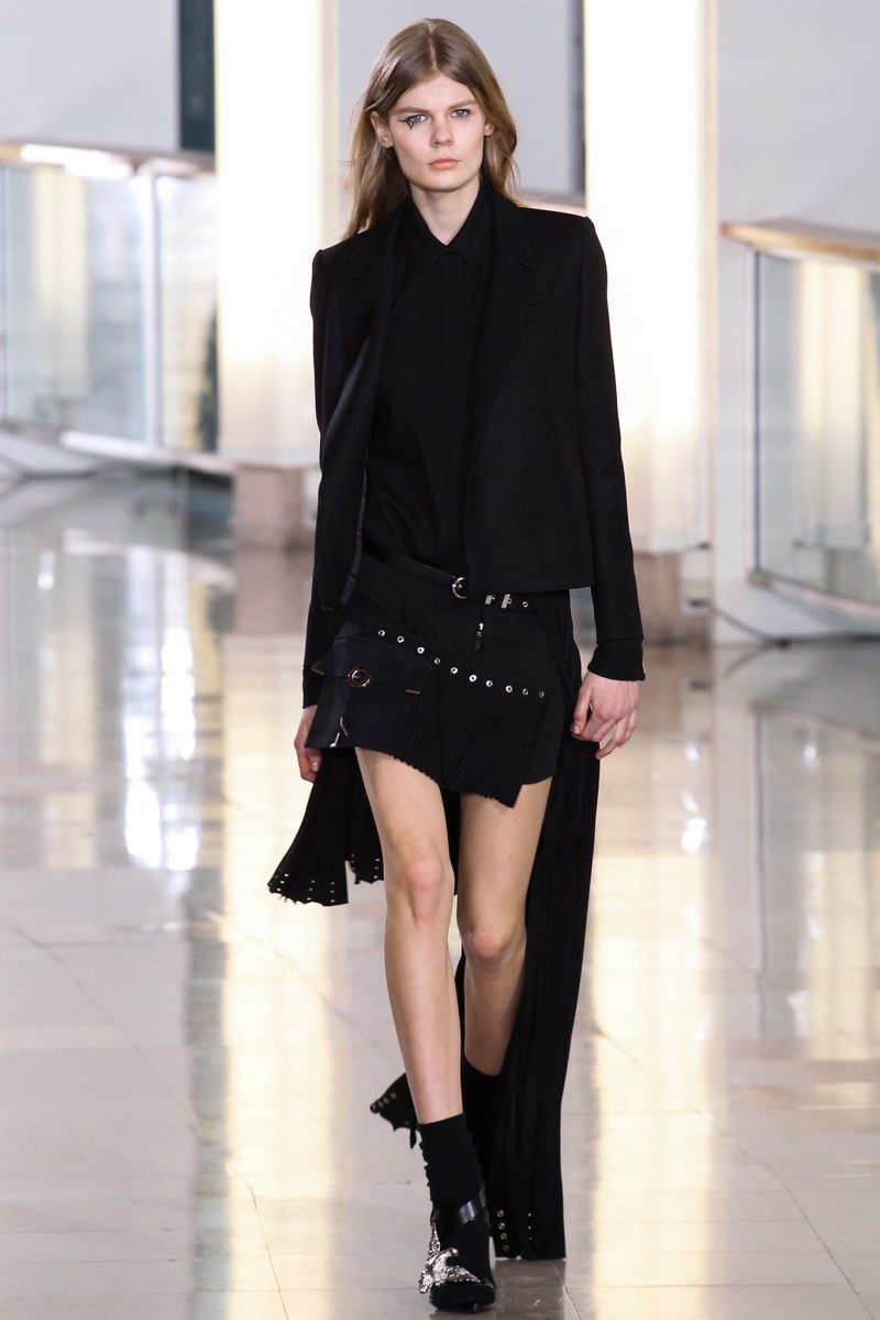 Anthony Vaccarello Ready to Wear FW 2015 PFW (7)