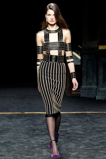 Balmain Ready to Wear FW 2015 PFW (38)