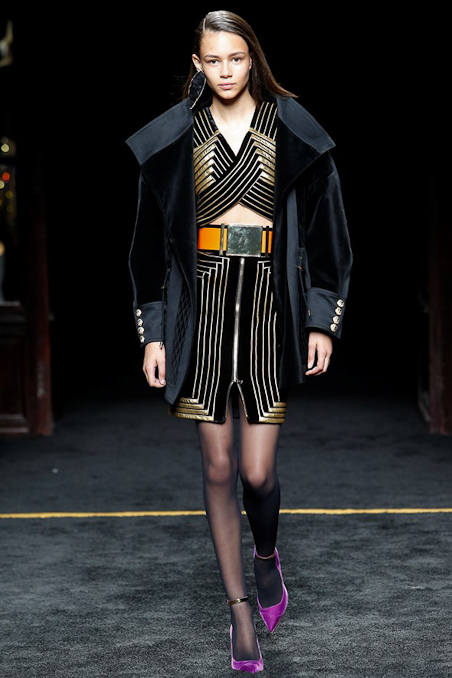 Balmain Ready to Wear FW 2015 PFW (41)