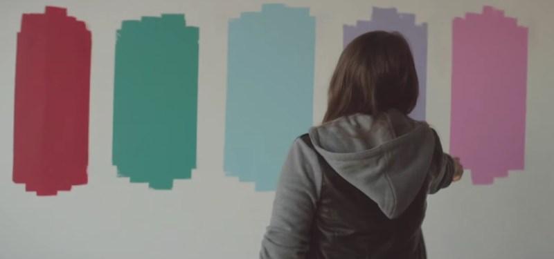 Colorblind valspar video