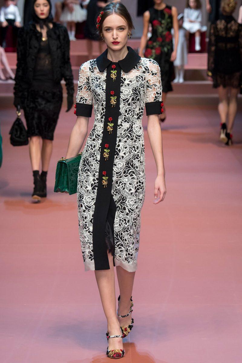 Dolce & Gabbana Ready to Wear FW 2015 MFW (13)