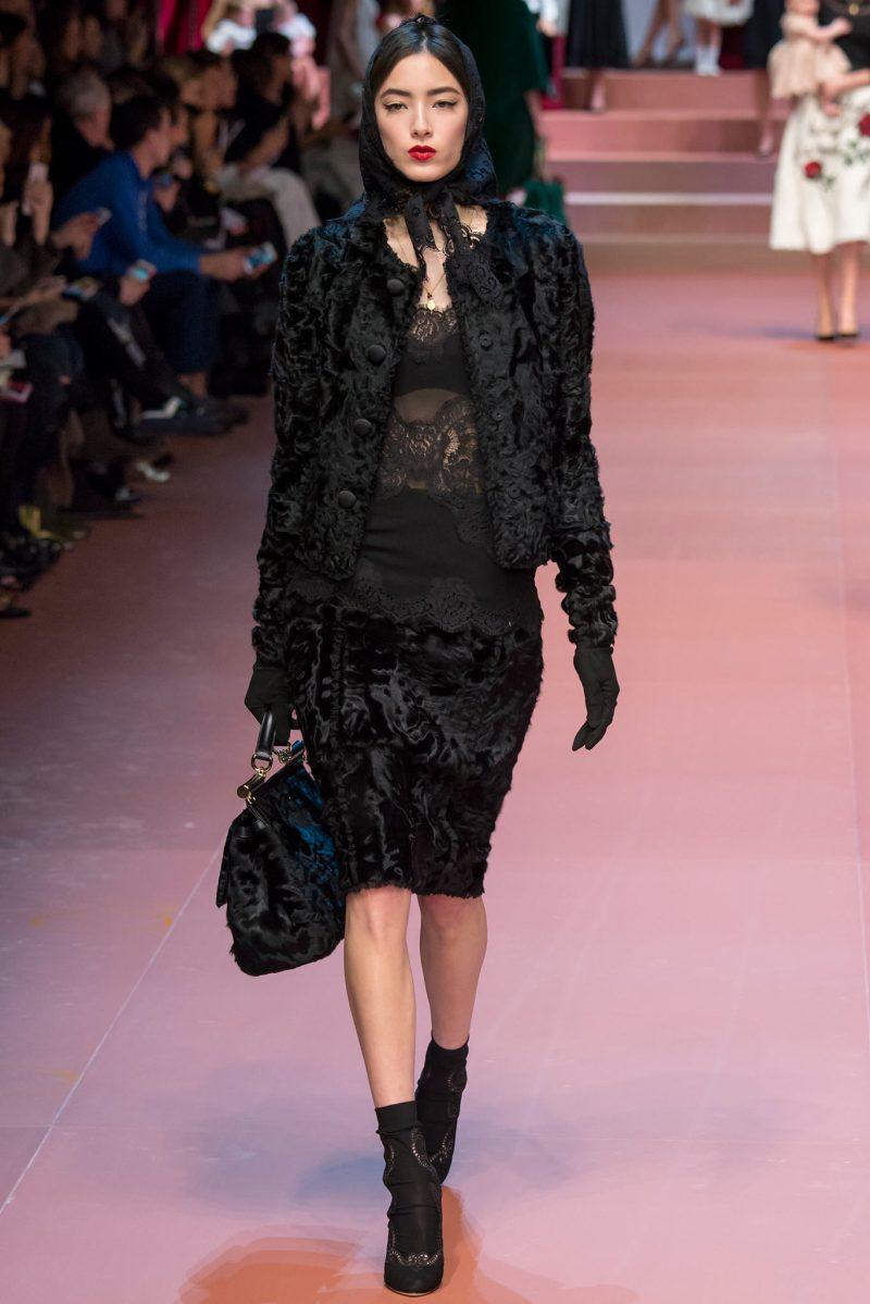 Dolce & Gabbana Ready to Wear FW 2015 MFW (14)