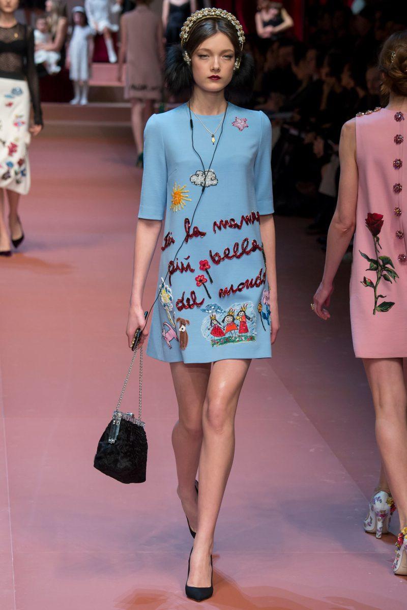 Dolce & Gabbana Ready to Wear FW 2015 MFW (30)
