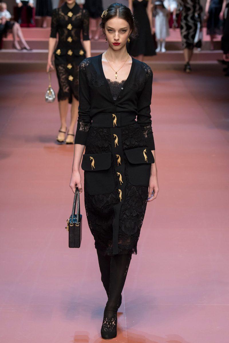 Dolce & Gabbana Ready to Wear FW 2015 MFW (37)