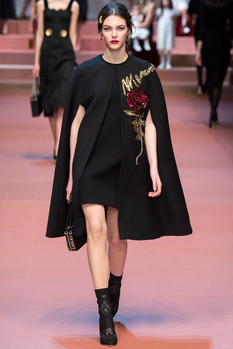 Dolce & Gabbana Ready to Wear FW 2015 MFW (40)