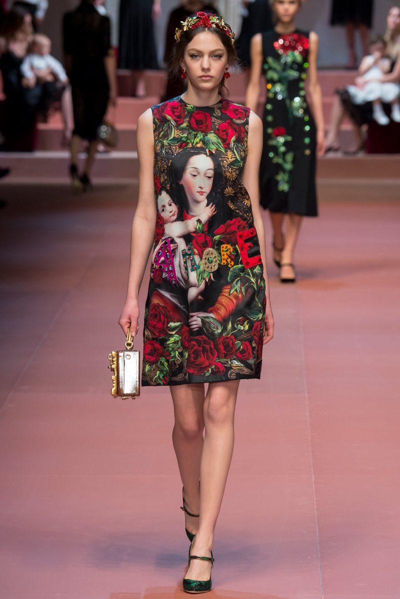 Dolce & Gabbana Ready to Wear FW 2015 MFW (42)