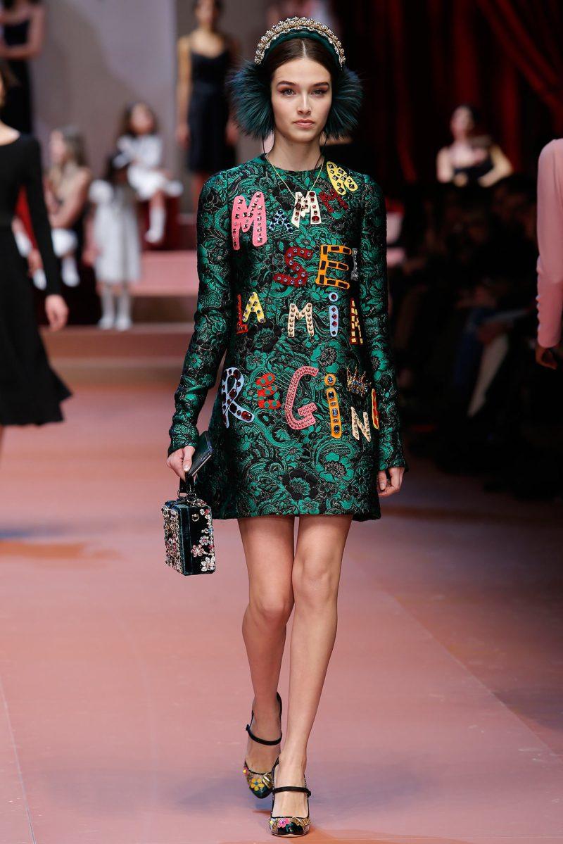 Dolce & Gabbana Ready to Wear FW 2015 MFW (48)
