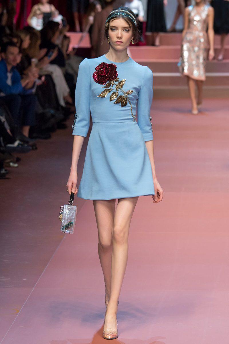 Dolce & Gabbana Ready to Wear FW 2015 MFW (5)