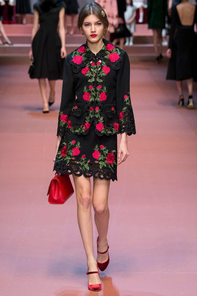 Dolce & Gabbana Ready to Wear FW 2015 MFW (52)