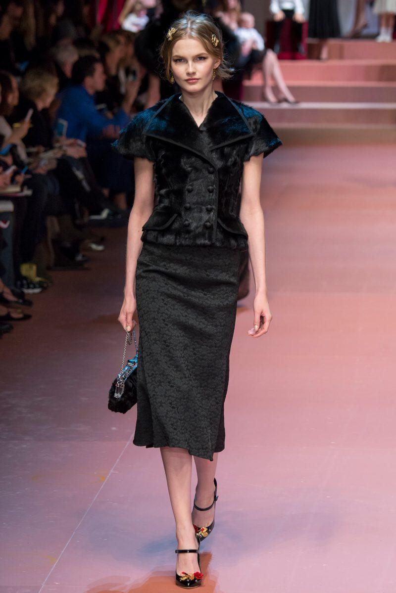Dolce & Gabbana Ready to Wear FW 2015 MFW (60)