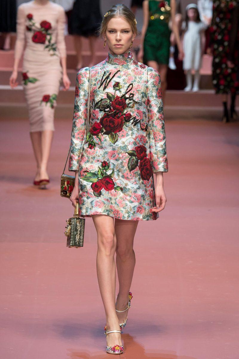 Dolce & Gabbana Ready to Wear FW 2015 MFW (65)