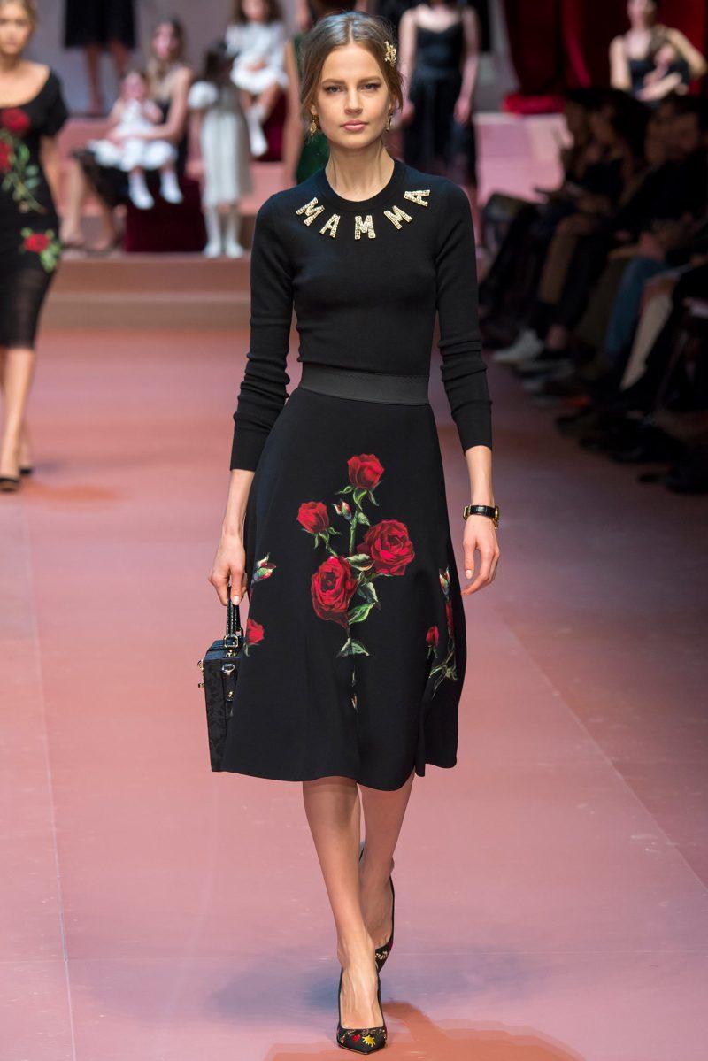 Dolce & Gabbana Ready to Wear FW 2015 MFW (70)