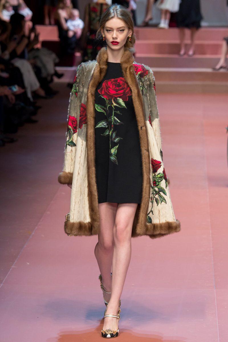 Dolce & Gabbana Ready to Wear FW 2015 MFW (72)