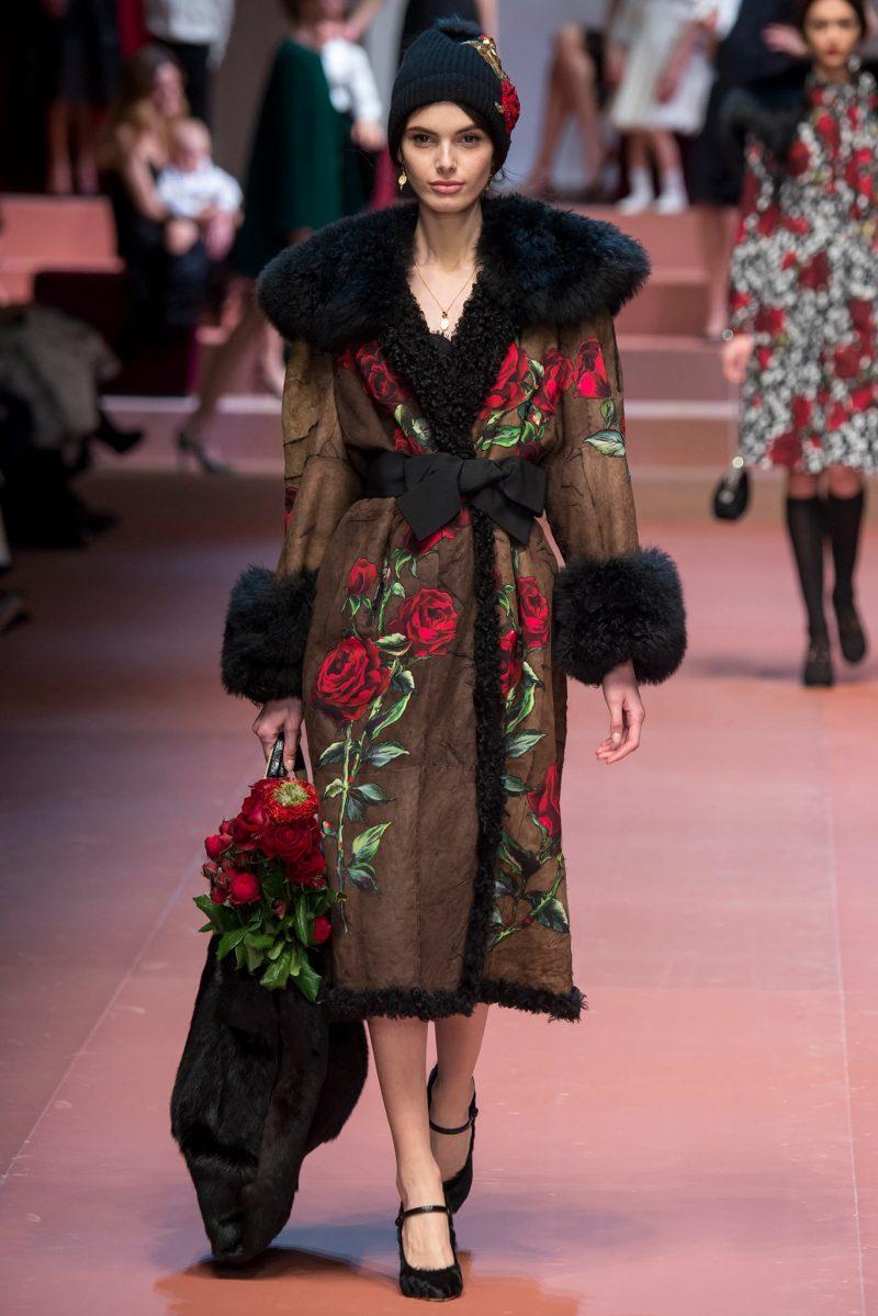 Dolce & Gabbana Ready to Wear FW 2015 MFW (77)