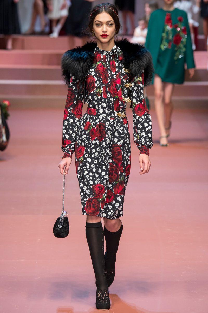 Dolce & Gabbana Ready to Wear FW 2015 MFW (78)