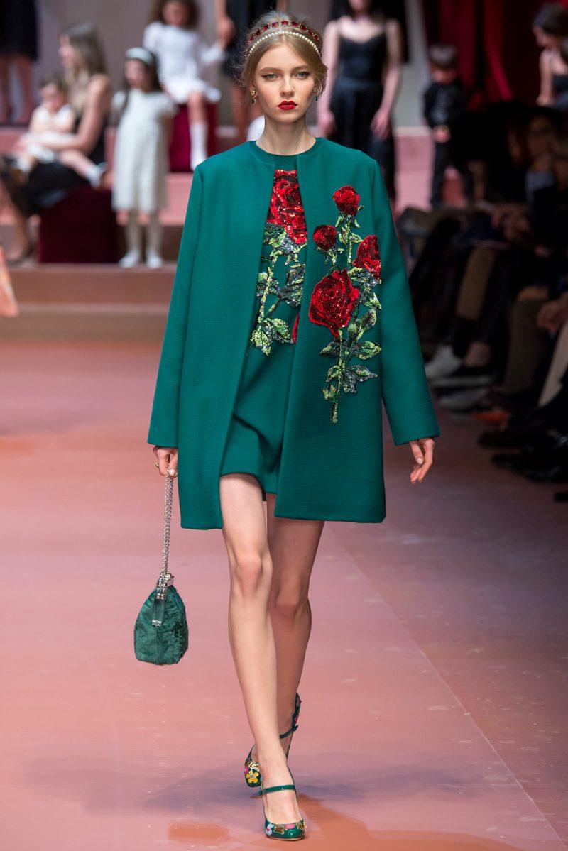Dolce & Gabbana Ready to Wear FW 2015 MFW (79)