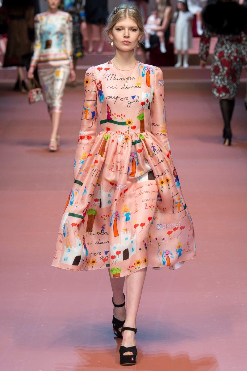 Dolce & Gabbana Ready to Wear FW 2015 MFW (80)