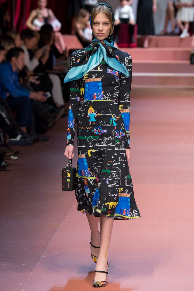 Dolce & Gabbana Ready to Wear FW 2015 MFW (82)