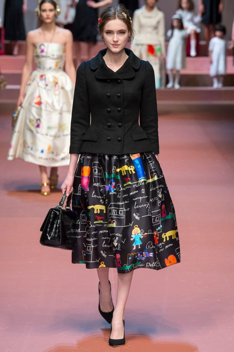 Dolce & Gabbana Ready to Wear FW 2015 MFW (84)